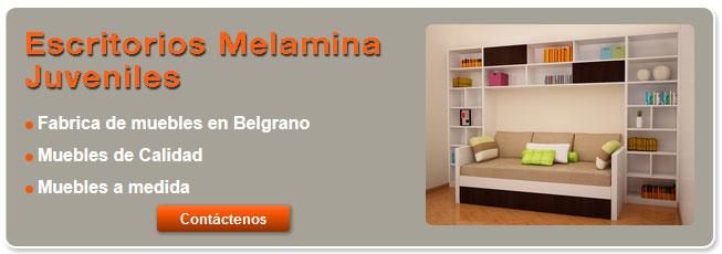 Escritorios de melamina juveniles de fabrica for Fabrica de muebles juveniles en madrid