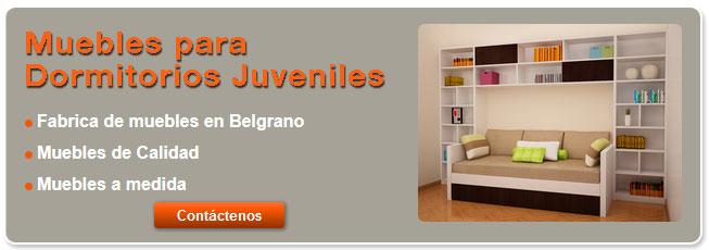 Muebles para Dormitorios Para adolescentes modernos Bs As