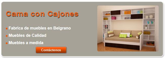 Muebles Cama Con Cajones - Fabrica de muebles